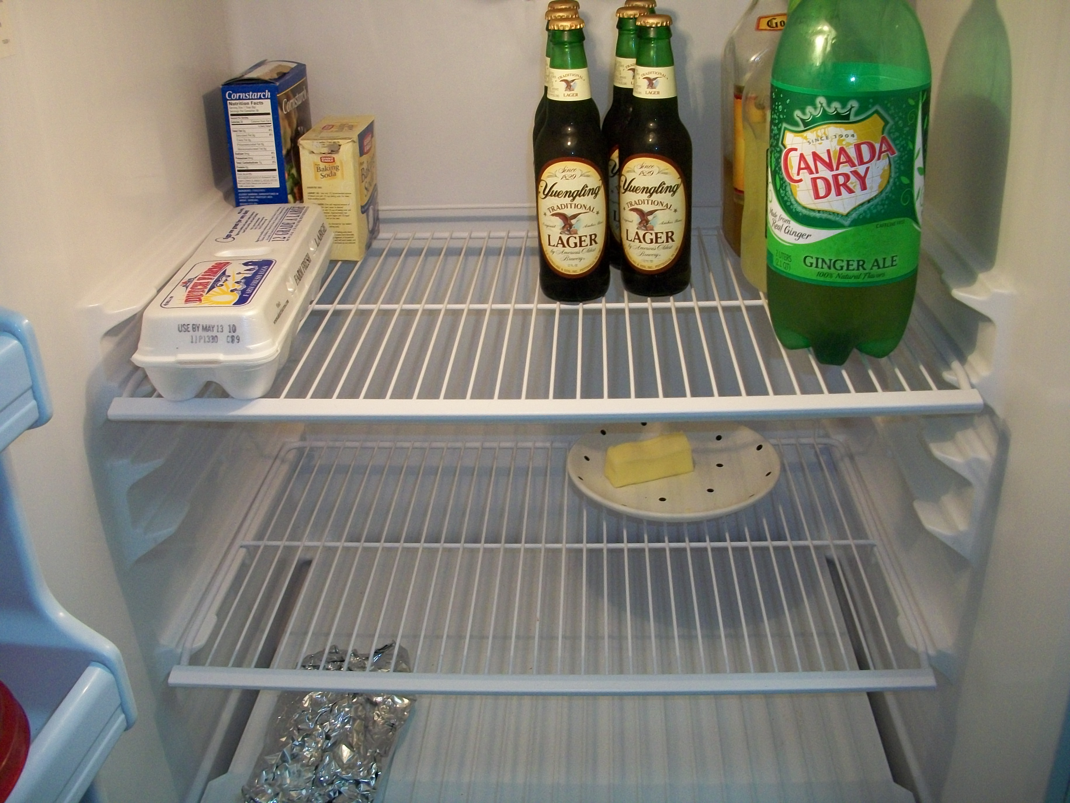 fridge feed empty fridge beer